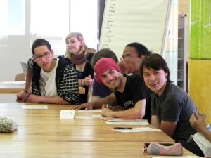 """""""ClubE diskutiert!"""" am 26. Mai 2011 in der Ellen-Key-Schule: Eines war klar: Mitbestimmen bei der Klimapolitik – das muss sein!"""