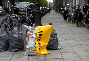 Der wertvolle Abfallsack aus Amsterdam Bild: waarmakers