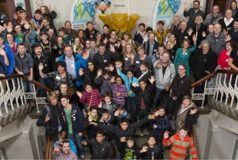 """Auftaktveranstaltung """"Energie und Klimaschutz in Schulen"""". Foto: Berliner Energieagentur"""