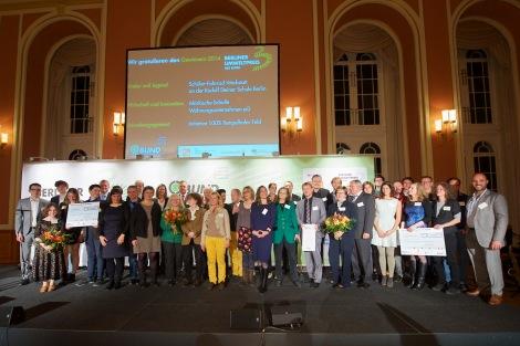 Preisträger des BUND Umweltpreises 2014