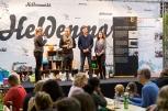 """And the winner is... Navi Solar, ein Autoverleih, der Elektromobile wie Transporter und Nutzfahrzeuge anbietet. Dein ClubE gratuliert! Foto: ClubE-Event """"Unternehmensgrün(d)ung"""" am Heldenmarkt © Berliner Energieagentur, Dietmar Gust"""