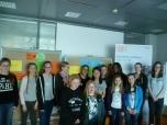 Die Teilnehmerinnen des ClubE Girls' Day 2016. Wir fanden es ganz toll mit euch!