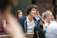 Die Schülerinnen und Schüler konnten ihre Fragen an die Politiker richten. Foto: Berliner Energieagentur