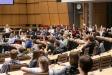 Abschließend konnte die Teilnehmenden ihre Stimme für den Klimaschutz setzen: Welche Forderung wird angenommen und soll weiterverfolgt werden? Foto: Berliner Energieagentur