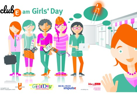 Girls'Day ClubE © Berliner Energieagentur