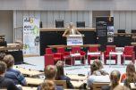 Ralf Wieland (Präsident des Abgeordnetenhauses von Berlin) begrüßte die Teilnehmenden. Foto: Berliner Energieagentur, Dietmar Gust