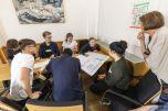 Es wurde heiß diskutiert. Hier der Ausschuss für Bildung.Foto: © Berliner Energieagentur, Dietmar Gust